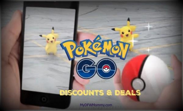 pokemon go pokestops, deals, discounts