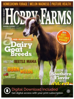 Hobby Farms Magazine Rural Living for Pleasure and Profit DiscountMags.com