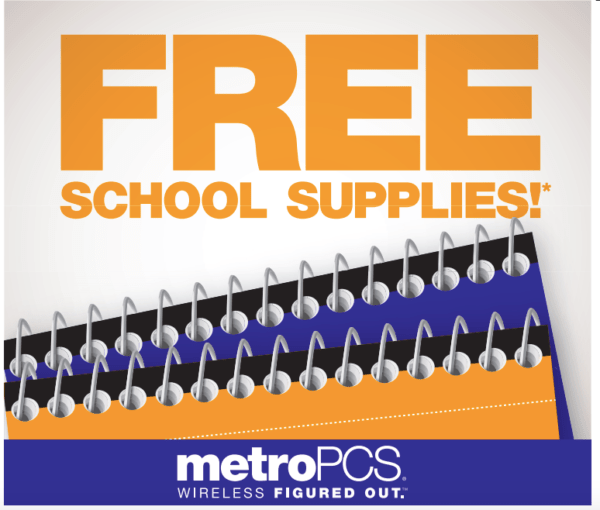 Free School Supplies at MetroPCS