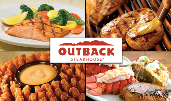 Outback Steakhouse 20% order