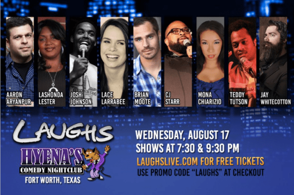 FREE Comedy Show in Fort Worth