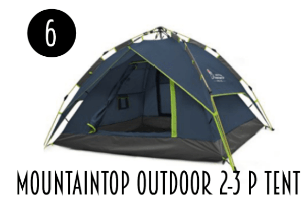 Top ten best camping tents