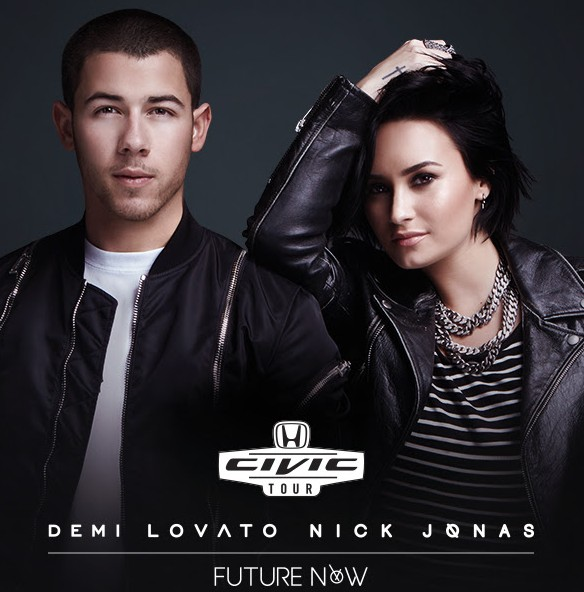 Demi lovato nick jonas will be at allen premium outlets in person demi lovato and nick jonas will be making an appearance at allen premium outlets on september 12 at the event you will have a chance to win a meet greet m4hsunfo