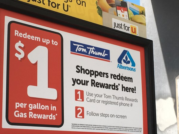 Tom Thumb Gas Rewards