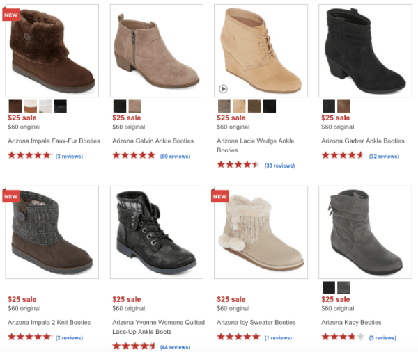 6c5479d0bca7 JCPenney Women s Boots Only  15 - My DFW Mommy