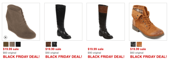 9e1ce062492 JCPenney Black Friday ~ 40 Boots Only $19.99 - My DFW Mommy