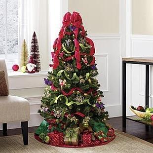Kmart Christmas Trees.Kmart 4 5 Pre Lit Christmas Trees Only 49 99 Reg
