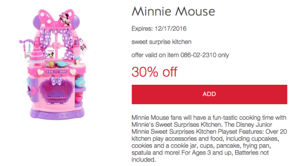 Target Minnie Mouse Sweet Surprises Kitchen Just 35 49