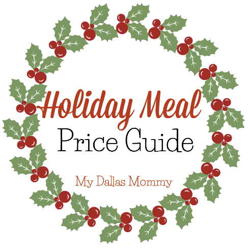 Holiday Meal Price Guide