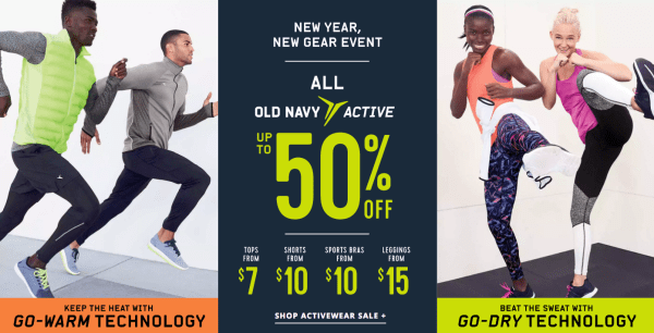 fa0cf51995 Old Navy~ Free Shipping With 2+ Performance Athletic Items Today Only.  Posted by My Dallas Mommy ...