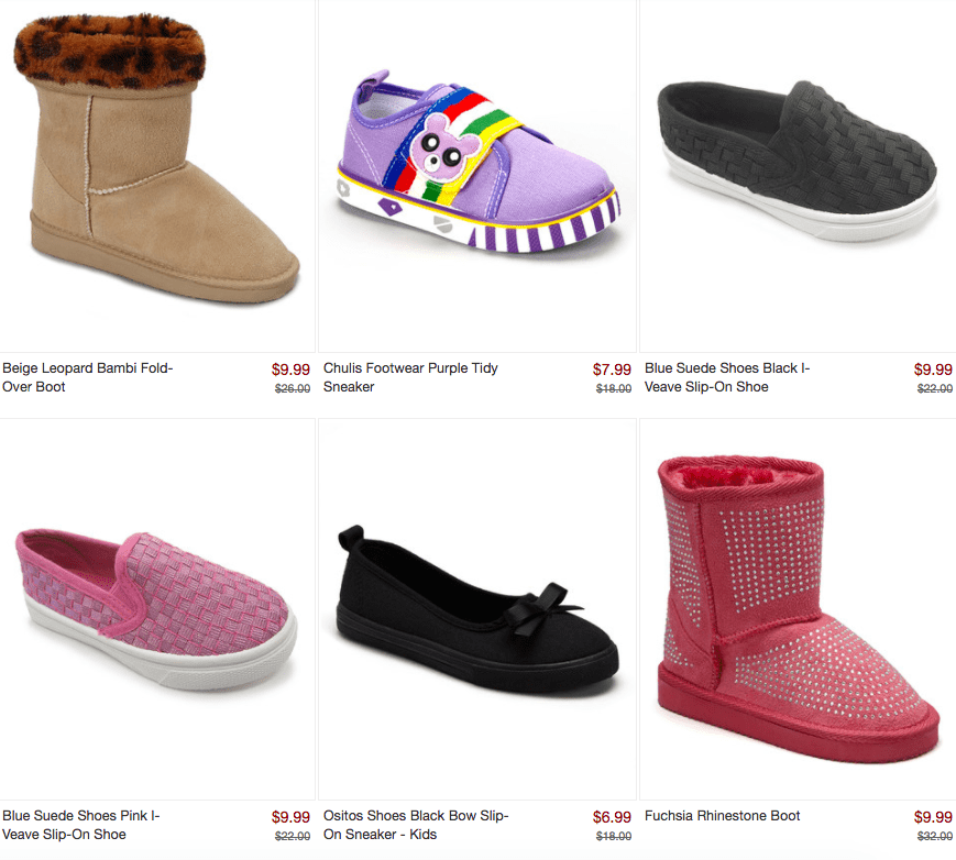 Closeout~ Kids Shoes for Under $10
