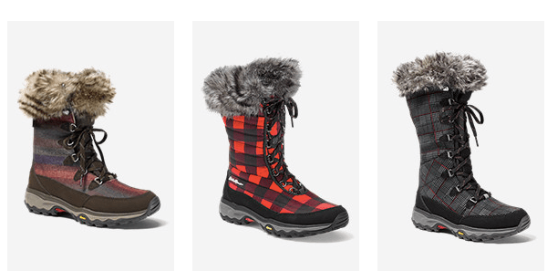 90160683688e Take 50% off a great selection of men s and women s winter boots and  slippers at EddieBauer.com. For example