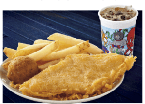 Long John Silvers 99 Kids Meal