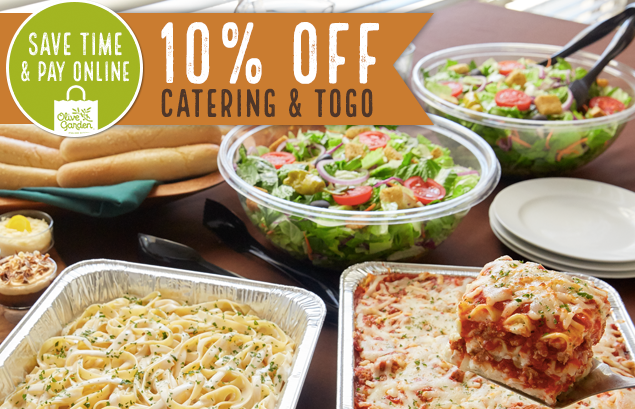 Olive Garden 10 Off Takeout Or Catering My Dfw Mommy