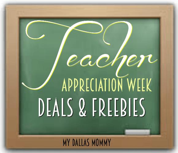 Teacher appreciation week deals discounts 2017 my dallas mommy teacher appreciation week deals freebies fandeluxe Image collections