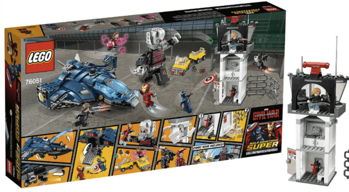 Amazon Lego Super Heroes Airport Battle Kit Only 5340 Reg