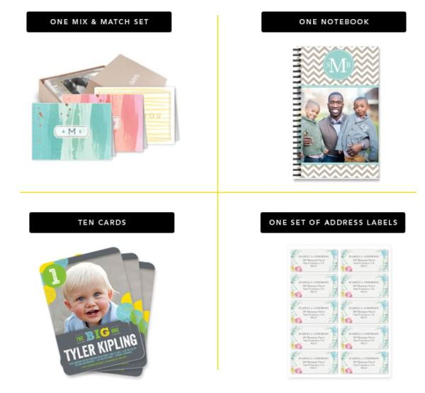 Shutterfly You Pick Two Freebies Today Only - Cards