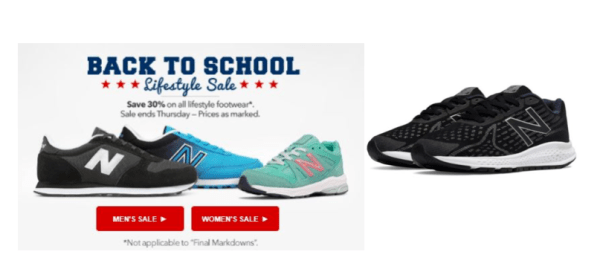 best loved 9371b b0bb0 Joe s New Balance Outlet~ 30% Off Lifestyle Shoes, 25% Off Kids Sneakers    Apparel + Daily Deal