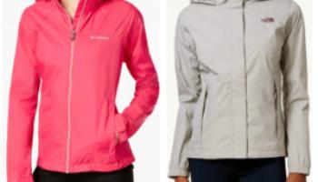 714e03e76 Macy's~ $26.99 Columbia Women's Jacket + The North Face Rain Jacket Only  $39.99