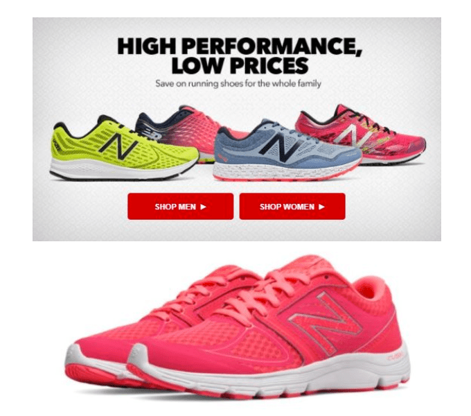 joe's new balance outlet daily deal
