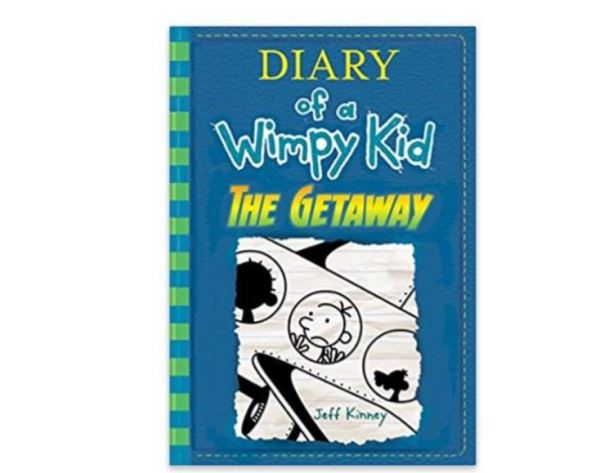 The getaway diary of a wimpy kid book 12 hardcover book 7 hurry over to get the getaway diary of a wimpy kid book 12 hardcover book for 7 retail 1395 solutioingenieria Choice Image