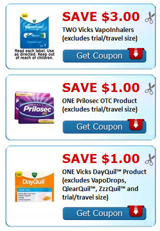 image regarding Prilosec Coupons Printable Easy called Contemporary Oct Printable Discount coupons~ Pampers, Vicks, Over-all Mills