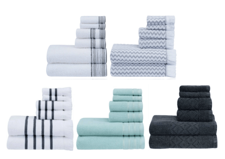 Need Some New Towels For Holiday Guests? Go Over To Walmart Where They Have  Several Better Homes U0026 Gardens 6 Piece Bath Towel Sets On Sale For $8.98!