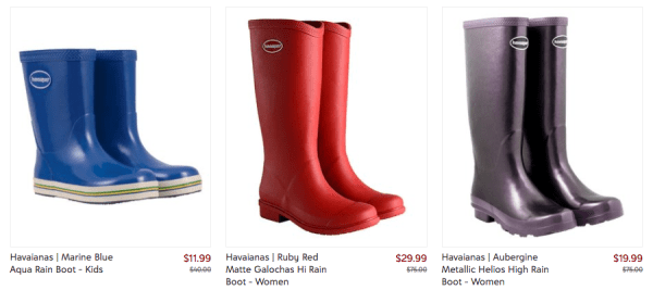 c5338f53251 Up to 70% Off Havaianas Rain Boots - My DFW Mommy