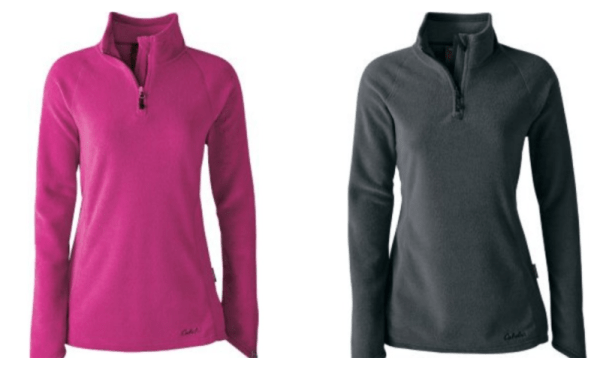 a0fab88c4 Cabela's Women's 1/4 Zip Pullover Just $14.88 (Reg $70) - My DFW Mommy