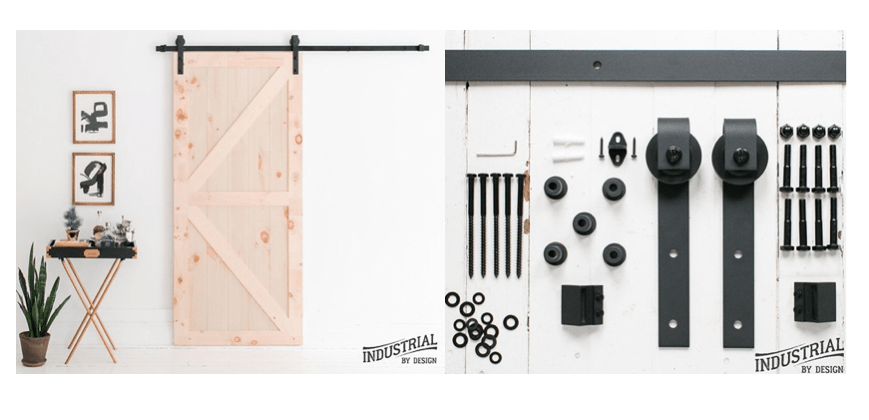 Beau Today Only And While Supplies Last This Industrial By Design Heavy Duty  Sliding Barn Door Hardware Kit Starts At Only $59.99 (Reg. $89.95+)!