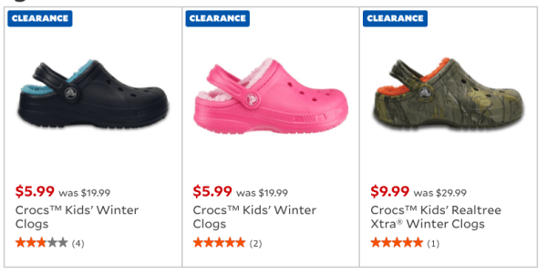 a91792d2c99714 Crocs Kids Winter Clogs Only  5.99 (Reg  20) - My DFW Mommy