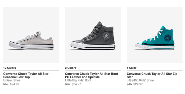 ea76dbcb2d12 Over 50% Off Converse Shoes + Free Shipping - My DFW Mommy