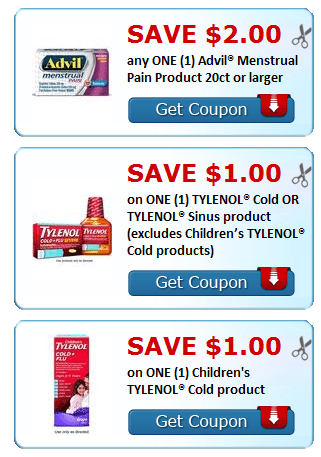 image relating to Advil Printable Coupon called Fresh new Printable Discount coupons~ Advil, Tylenol Chilly, Sudafed + Further more