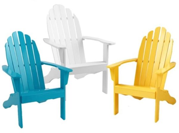 Cool Living Painted Adirondack Chairs As Low As $37.99 Shipped (Retail  $59.99)