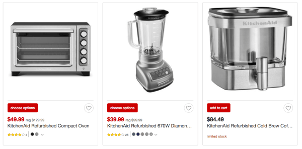 Up to 40% Off KitchenAid Small Kitchen Appliances at Target - My ...