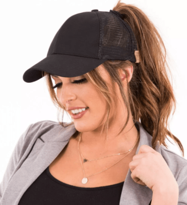 New C.C. Top Knot Trucker Hats Just  14.99 (reg  40) - My Dallas Mommy b71f7f26bff