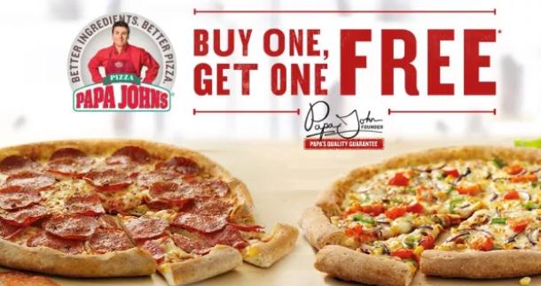 Papa John S Bogo Free Pizza My Dfw Mommy