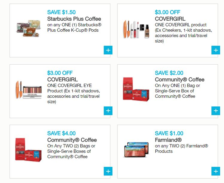 picture about Covergirl Printable Coupons known as Fresh Printable Coupon codes - Starbucks, Aveeno, Covergirl Additional