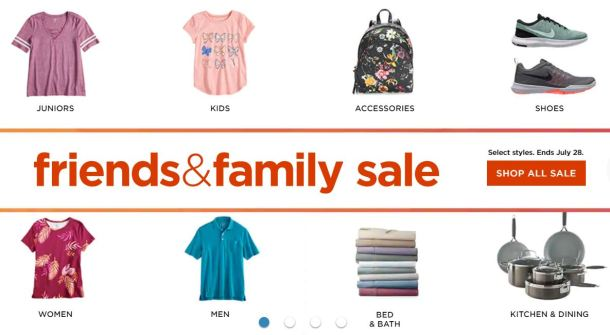 Kohl S Stackable Coupon Codes Friends Family Sale
