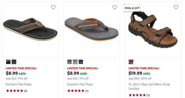 556817ae83c3 70% Off Men s Sandals at JCPenney - My DFW Mommy