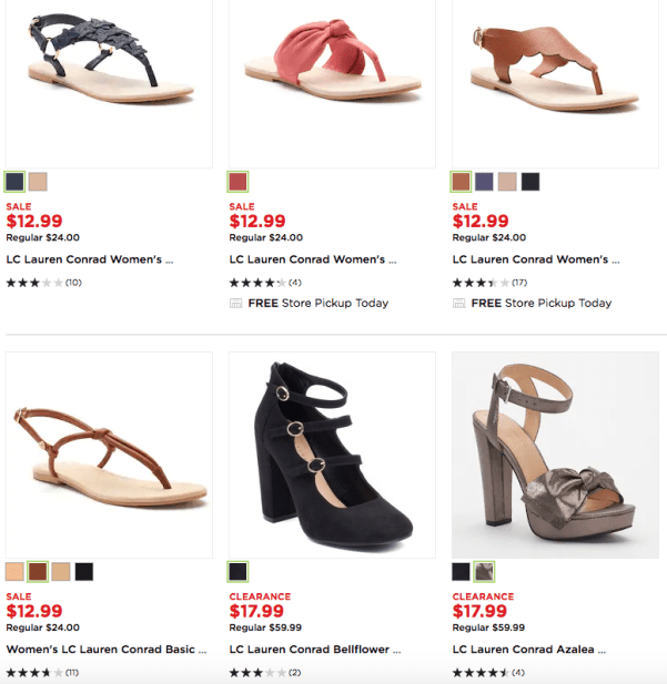 846ebbafbc5 Over 60% Off Lauren Conrad Sandals & Shoes - My DFW Mommy