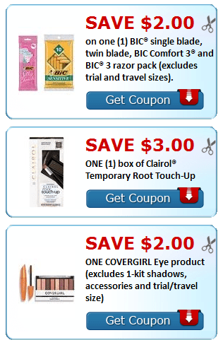 image regarding Bic Printable Coupons titled Fresh Printable Coupon codes~ CoverGirl, BIC, Similac + Even more - My