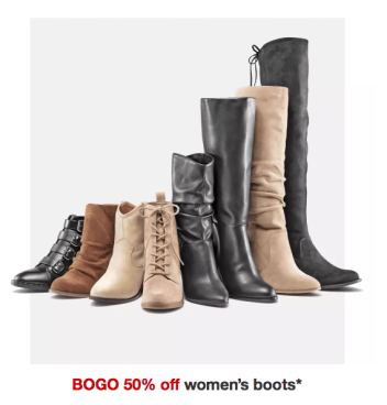 80ca07288d7f7 Target~ BOGO 50% Off Women's Boots - My DFW Mommy