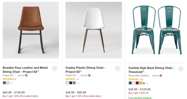 c44b27ccc05 BOGO 50% Off Dining Chairs   Bar Stools - My DFW Mommy