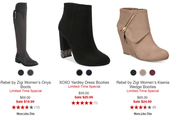 b42ca7475f8 Macy's Boots Sale~ Styles Starting at $19.99 - My DFW Mommy