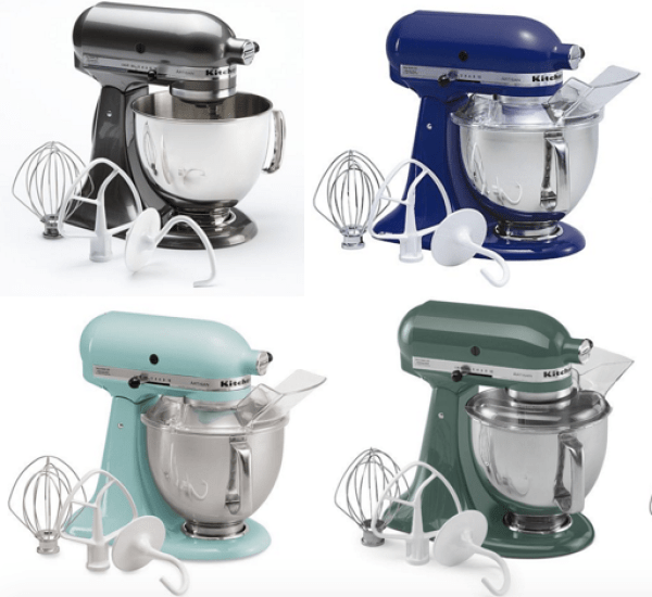 Kitchenaid Artisan 5 Quart Stand Mixer Only 224 Shipped Earn 60 Kohl S Cash My Dfw Mommy