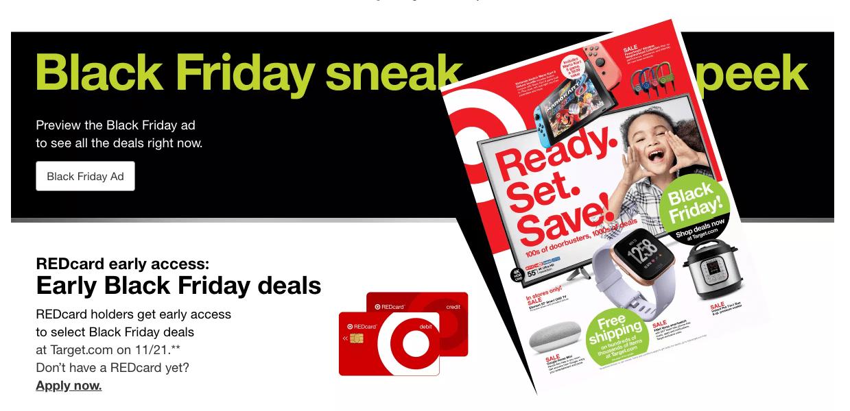Target Black Friday deals predictions