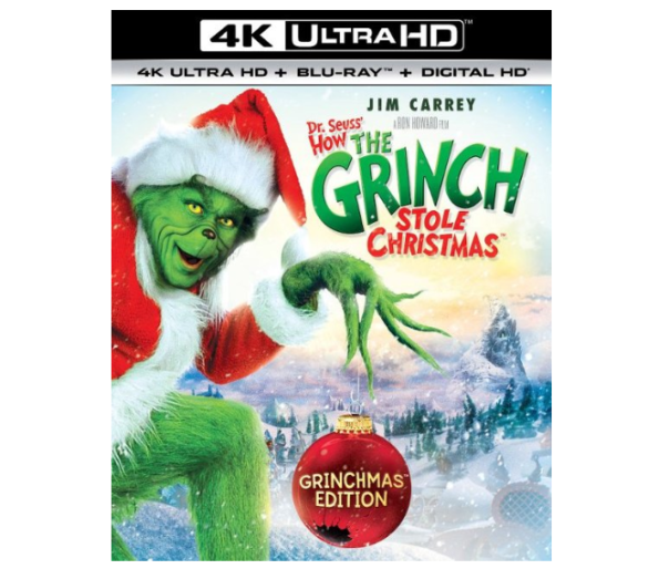 How The Grinch Stole Christmas Blu Ray.Dr Seuss How The Grinch Stole Christmas 4k Uhd Blu Ray