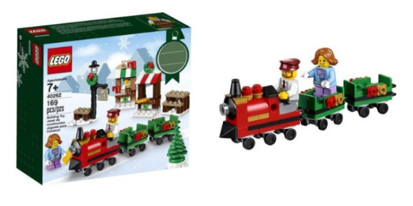 Lego Christmas Train.Lego Christmas Train Ride Set 9 99 Shipped My Dfw Mommy