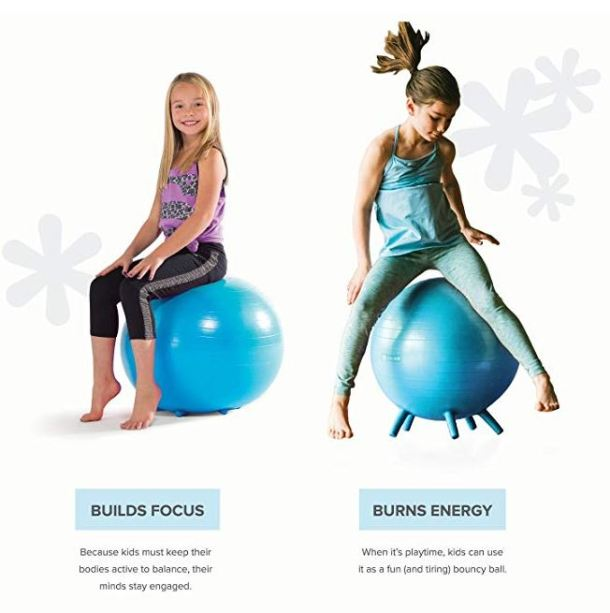 Awesome Gaiam Kids Stay N Play Childrens Balance Balls As Low As Caraccident5 Cool Chair Designs And Ideas Caraccident5Info